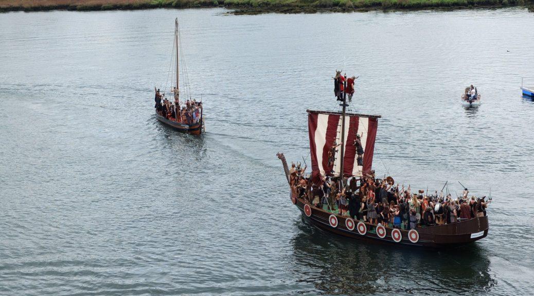 Vikinge skibe